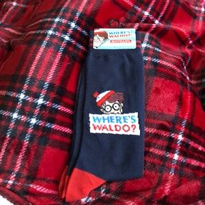Where's Waldo Men's socks